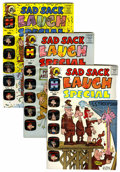 Silver Age (1956-1969):Humor, Sad Sack Laugh Special #16-93 File Copy Long Box Group (Harvey, 1963-77) Condition: Average VF/NM....