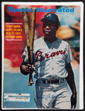 """Baseball Collectibles:Photos, Hank Aaron Signed """"Sports Illustrated"""" Cover...."""