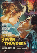 "Movie Posters:War, Seven Thunders (Rank, 1957). British One Sheet (27"" X 40""). War....."