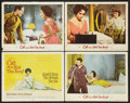 """Movie Posters:Drama, Cat on a Hot Tin Roof (MGM, 1958). Title Lobby Card and Lobby Cards (3) (11"""" X 14""""). Drama.. ... (Total: 4 Items)"""