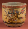 American Indian Art:Pottery, Maya Bowl with Resurrection Gods...