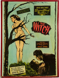 """Movie Posters:Horror, The Witch (Sonney Amusement Enterprises, 1954). Posters (2) (30"""" X 40"""").. ... (Total: 2 Items)"""