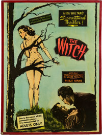 "The Witch (Sonney Amusement Enterprises, 1954). Posters (2) (30"" X 40""). ... (Total: 2 Items)"