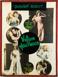 "Movie Posters:Exploitation, A Virgin in Hollywood (Sonney Amusement Enterprises, 1953). Posters(2) (30"" X 40"").. ... (Total: 2 Items)"