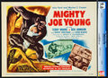"""Movie Posters:Horror, Mighty Joe Young (RKO, 1949). CGC Graded Title Lobby Card (11"""" X 14"""").. ..."""