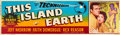 "Movie Posters:Science Fiction, This Island Earth (Universal International, 1955). Banner (24"" X82""). ..."