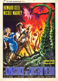 "Movie Posters:Science Fiction, The Day of the Triffids (Rank, 1963). Italian 2 - Foglio (39"" X55"").. ..."