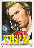 "Movie Posters:Crime, Dirty Harry (Warner Brothers, 1972). Italian 2 - Foglio (39"" X55"").. ..."