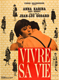 "My Life to Live (Union Films, 1963). French Grande (47"" X 63"")"