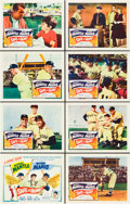 "Movie Posters:Sports, Safe at Home (Columbia, 1962). Lobby Card Set of 8 (11"" X 14"")..... (Total: 8 Items)"