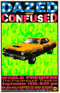 "Movie Posters:Comedy, Dazed and Confused (Alamo Drafthouse, 1993). Signed Limited EditionPremier Poster (22.5"" X 35"").. ..."