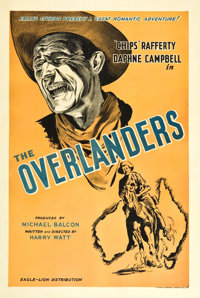 "The Overlanders (Eagle Lion, 1946). British One Sheet (27"" X 40"")"