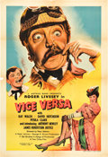 "Movie Posters:Comedy, Vice Versa (Eagle Lion, 1947). British One Sheet (27"" X 40"").. ..."