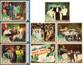 "Movie Posters:Comedy, Hold That Ghost (Universal, 1941). Lobby Card Set of 8, With 3 Cards CGC Graded (11"" X 14"").. ... (Total: 8 Items)"