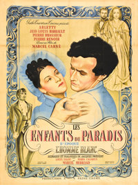 "Children of Paradise (Les Enfants du Paradis) (Pathé, 1945) Part 1. French Grande (47"" X 63.5"")"