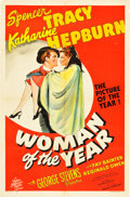 "Movie Posters:Comedy, Woman of the Year (MGM, 1942). One Sheet (27"" X 41"") Style D.. ..."