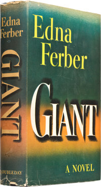 "Giant (Doubleday, 1952). Autographed First Edition Book (6"" X 8.5"", 448 Pages)"