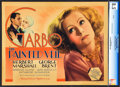 "Movie Posters:Romance, The Painted Veil (MGM, 1934). CGC Graded Title Lobby Card (11"" X14"").. ..."
