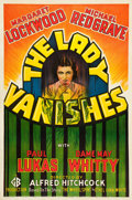 "Movie Posters:Hitchcock, The Lady Vanishes (Gaumont, 1938). One Sheet (27"" X 41"").. ..."