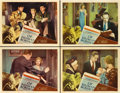 "Movie Posters:Drama, Of Human Bondage (RKO, 1934). Lobby Cards (4) (11"" X 14"").. ...(Total: 4 Items)"