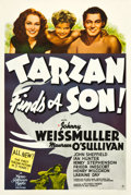 "Movie Posters:Adventure, Tarzan Finds a Son (MGM, 1939). One Sheet (27"" X 41"") Style D.. ..."
