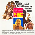 "Movie Posters:Science Fiction, Planet of the Apes (20th Century Fox, 1968). Six Sheet (81"" X81"").. ..."