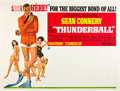 "Movie Posters:James Bond, Thunderball (United Artists, 1965). Subway (45"" X 55.25"").. ..."