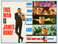 "Movie Posters:James Bond, You Only Live Twice (United Artists, 1967). Subway (45"" X 59"")Advance.. ..."