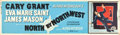 """Movie Posters:Hitchcock, North by Northwest (MGM, 1959). Banner (24"""" X 82"""").. ..."""