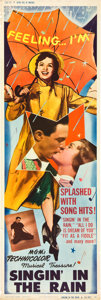 "Movie Posters:Musical, Singin' in the Rain (MGM, 1952). Door Panels (2) (20"" X 60"").. ...(Total: 2 Items)"