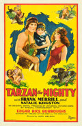 "Movie Posters:Serial, Tarzan the Mighty (Universal, 1928). One Sheet (27"" X 41"") PortraitStyle.. ..."