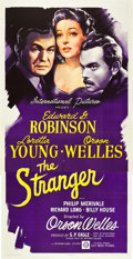 "Movie Posters:Film Noir, The Stranger (RKO, 1946). Three Sheet (41"" X 81"").. ..."