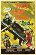 "Movie Posters:Cult Classic, Hot Car Girl (Allied Artists, 1958). Poster (40"" X 60"").. ..."