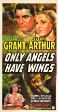 "Movie Posters:Drama, Only Angels Have Wings (Columbia, 1939). Three Sheet (41"" X 81"")....."