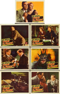 "Movie Posters:Horror, Curse of the Demon (Columbia, 1957). Lobby Cards (7) (11"" X 14"")..... (Total: 7 Items)"