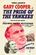 "Movie Posters:Sports, The Pride of the Yankees (RKO, 1942). One Sheet (27"" X 41"").. ..."