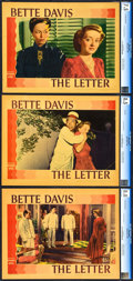 "Movie Posters:Film Noir, The Letter (Warner Brothers, 1940). CGC Graded Lobby Cards (3) (11""X 14"").. ... (Total: 3 Items)"