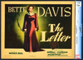"""Movie Posters:Film Noir, The Letter (Warner Brothers, 1940). CGC Graded Title Lobby Card(11"""" X 14"""").. ..."""