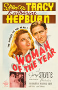 "Movie Posters:Comedy, Woman of the Year (MGM, 1942). One Sheet (27"" X 41"") Style C.. ..."