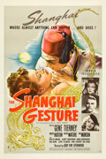 "Movie Posters:Film Noir, The Shanghai Gesture (United Artists, 1942). One Sheet (27"" X41"").. ..."