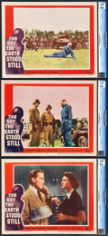 "Movie Posters:Science Fiction, The Day the Earth Stood Still (20th Century Fox, 1955). CGC GradedLobby Cards (3) (11"" X 14"").. ... (Total: 3 Items)"