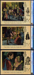"""Movie Posters:Drama, Dorothy Vernon of Haddon Hall (United Artists, 1924). CGC GradedLobby Cards (3) (11"""" X 14"""").. ... (Total: 3 Items)"""