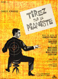 """Movie Posters:Crime, Shoot the Piano Player (Cocinor, 1960). French Grande (47"""" X 63"""")....."""