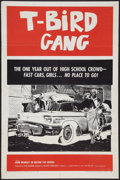 "Movie Posters:Exploitation, T-Bird Gang (Film Group, 1959). One Sheet (27"" X 41""). Exploitation.. ..."