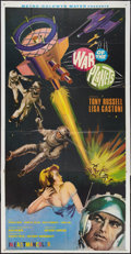 "Movie Posters:Science Fiction, The War of the Planets (MGM, 1966). Three Sheet (41"" X 81"").Science Fiction.. ..."