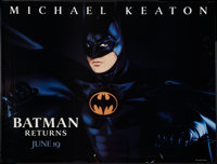 """Batman Returns Lot (Warner Brothers, 1992). Bus Shelters (2) (45"""" X 60"""") Advance. Action. ... (Total: 2 Items)"""