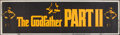 """Movie Posters:Crime, The Godfather Part II (Paramount, 1974). Banner (24"""" X 82"""").Crime.. ..."""