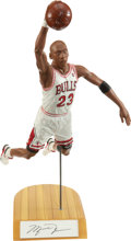 """Baseball Collectibles:Others, Michael Jordan Signed """"Upper Deck"""" Statue...."""