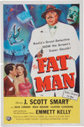 Memorabilia:Poster, The Fat Man Movie Poster (Universal-International, 1951)....