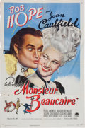 Memorabilia:Poster, Monsieur Beaucaire Movie Poster (Paramount, 1946)....
